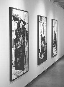 modne grafiki czarno białe na ścianę