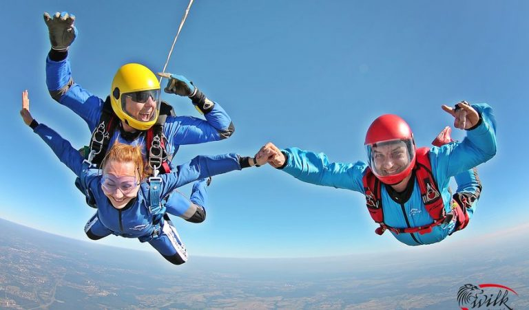 skok ze spadochronem dla dwojga