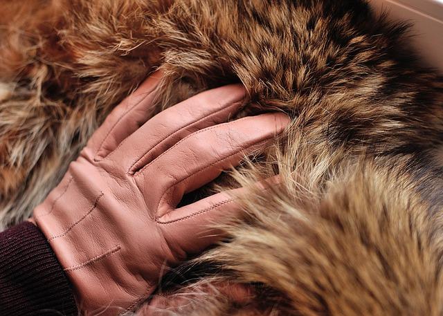 rękawice skorzane damskie